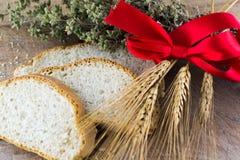 Chleb i makaron Fotografia Stock