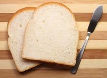 Chleb i nóż Zdjęcie Royalty Free