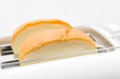 Chleb i opiekacz Fotografia Stock