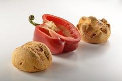 Chleb i pepper_5 Obraz Stock