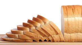 Chleb i rozcięcia deska Fotografia Royalty Free
