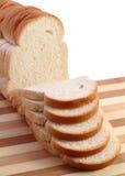 Chleb i rozcięcia deska Fotografia Stock