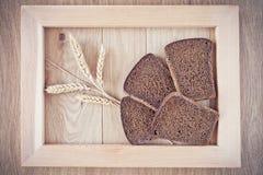 Chleb i spikelets Obrazy Royalty Free