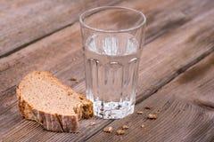 Chleb i woda Zdjęcie Royalty Free