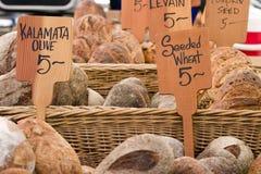 chleb jest rynek rolników Obraz Royalty Free