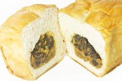 Chleb na białym tle Zdjęcie Stock