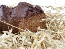 Chleb na słomie Zdjęcia Stock