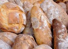 Chleb na ulicznego rynku kramu Zdjęcia Stock