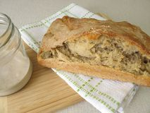 Chleb od domowej roboty sourdough Zdjęcie Stock