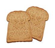chleb odizolowywający plasterek zdjęcie stock