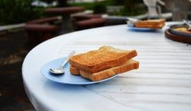 Chleb piec Obrazy Stock