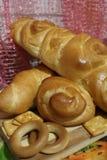 Chleb, rolki i ciastko, Zdjęcie Stock