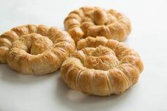 Chleb spirala odizolowywająca na białym tle zdjęcia royalty free