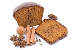 chleb tortowe imbirowe miodowe przyprawy Obrazy Royalty Free