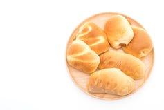 chleb w drewno talerzu obrazy royalty free
