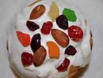 chleb Wielkanoc tortowa dekoracyjna tradycja Fotografia Stock
