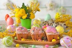 chleb Wielkanoc tortowa dekoracyjna tradycja Zdjęcie Royalty Free