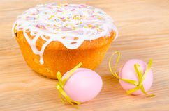 chleb Wielkanoc tortowa dekoracyjna tradycja Obraz Stock