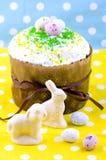 chleb Wielkanoc tortowa dekoracyjna tradycja Obraz Royalty Free