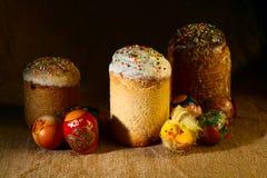 chleb Wielkanoc tortowa dekoracyjna tradycja Obrazy Royalty Free