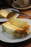chleb wznosił toast Zdjęcia Royalty Free