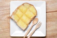 chleb wznoszący toast Zdjęcia Royalty Free