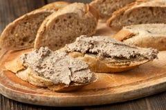 Chleb z mięsnym łbem zdjęcie royalty free