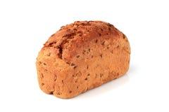 Chleb z otręby i lna ziaren zakończeniem zdjęcie royalty free