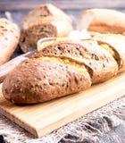Chleb z Pomarańczowym Dżemem obraz stock