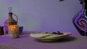 Chleb Z Wysuszonym owoc życiem wciąż zdjęcie wideo