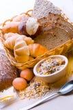 Chleb, zboże roślina, makaron Chleb, zboże roślina, Obraz Stock