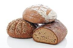 3 chleba Obrazy Stock