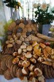 chleba asortowany stół Zdjęcia Royalty Free