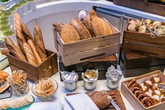 Chleba bar zdjęcie royalty free