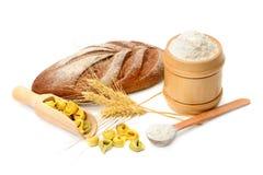 Chleba i mąki produkty Obrazy Stock