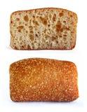 chleba tort dwa zdjęcia royalty free