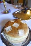 Chleba tort od serba domu Obrazy Stock