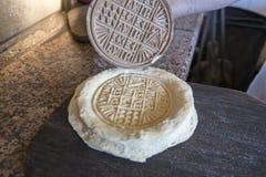 Chleba znaczka obsada fotografia stock