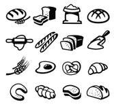 Chlebowa ikona ilustracji
