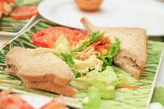 Chlebowa kanapka Zdjęcie Stock