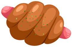 chlebowa kiełbasa Fotografia Stock