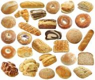 Chlebowa kolekcja Zdjęcia Stock