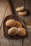 Chlebowa mąka i banatka obraz stock
