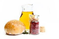 chlebowa nafciana oliwka Zdjęcia Stock