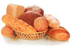 Chlebowa obfitość obrazy royalty free