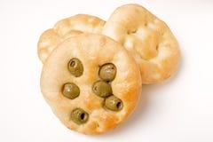 chlebowa płaska oliwka obrazy royalty free