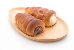 chlebowa rolka z śmietanką Fotografia Stock