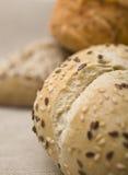 chlebowe świeże rolki Zdjęcie Stock
