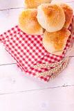 chlebowe domowej roboty rolki fotografia royalty free