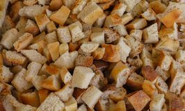 Chlebowe kruszki fotografia stock